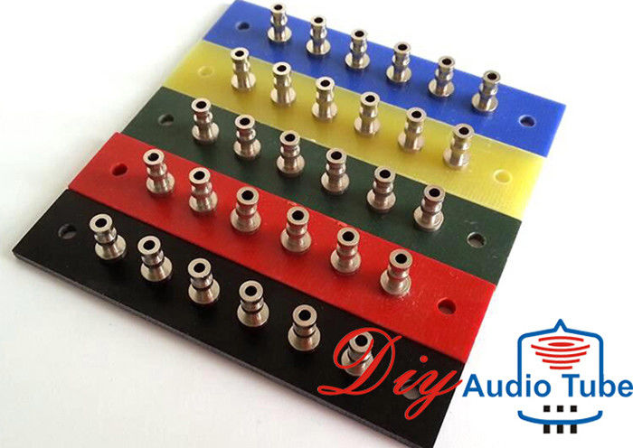Audio Tube AMP Board 6 Pins Tag Strip 78.5x16x2mm Size For Vintage HIFI Guitar Amp