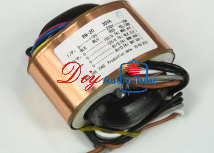 Toroidal Transformer For Audio Amplifiers , Guitar Amp Output Transformer OEM ODM Accepted